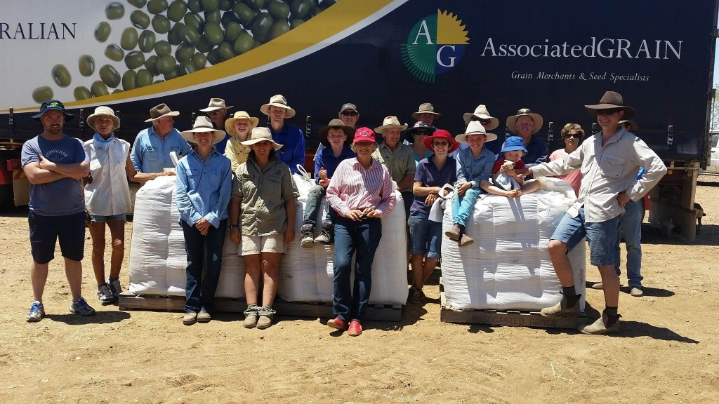 Longreach Associated Grain and Seed Donation